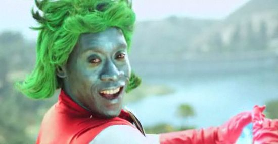 Don Cheadle as Captain Planet Funny or Die