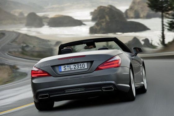 Leaked photos of 2013 Mercedes SL500