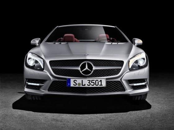 2013 front bumper of Mercedes SL Class