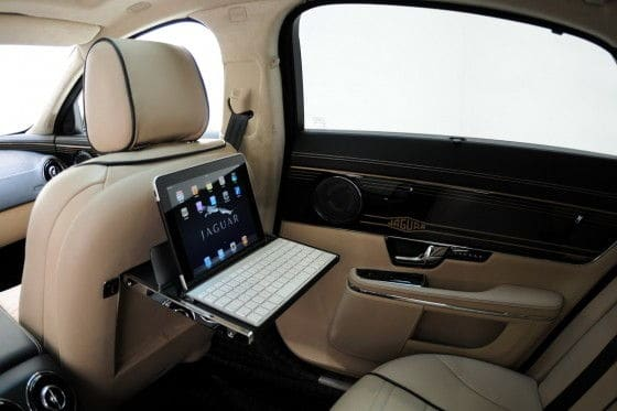 2012 Jaguar XJL Luxurious interior