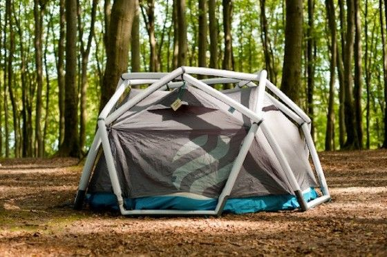 Inflatable Cave Tent & Inflatable Geodesic Cave Tent by Heimplanet - Unfinished Man