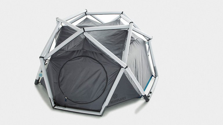Inflatable Geodesic Cave Tent By Heimplanet Unfinished Man
