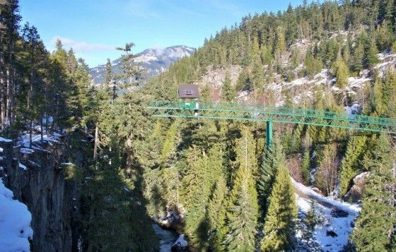 Bridge at Whistler Bungee Jumping