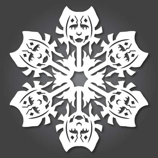Star Wars Snowflakes ahsoka