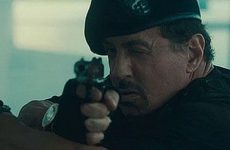 Stallone in Expendables 2