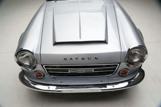 Silver restored Datsun 2000 Roadster 2.0 Liter