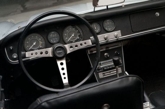 1967 Datsun Fairlady 2000 Interior