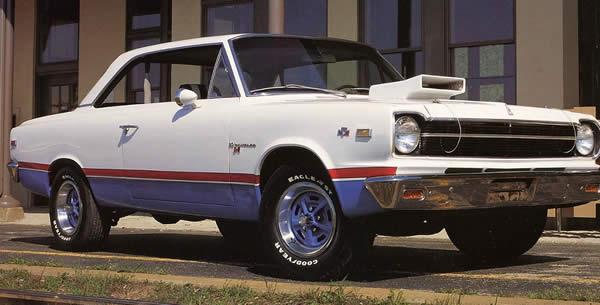 1969 AMC Rambler Scrambler fully optioned muscle cars