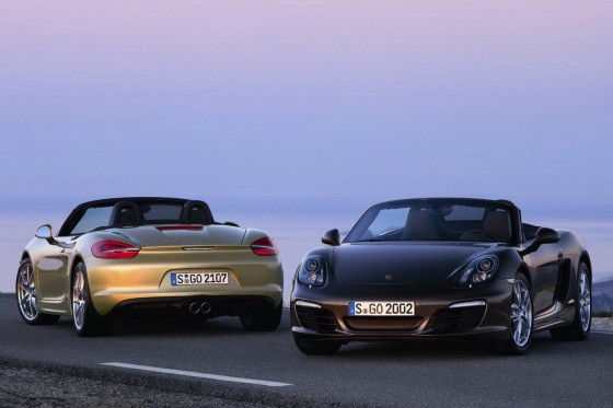 all-new Porsche Boxster