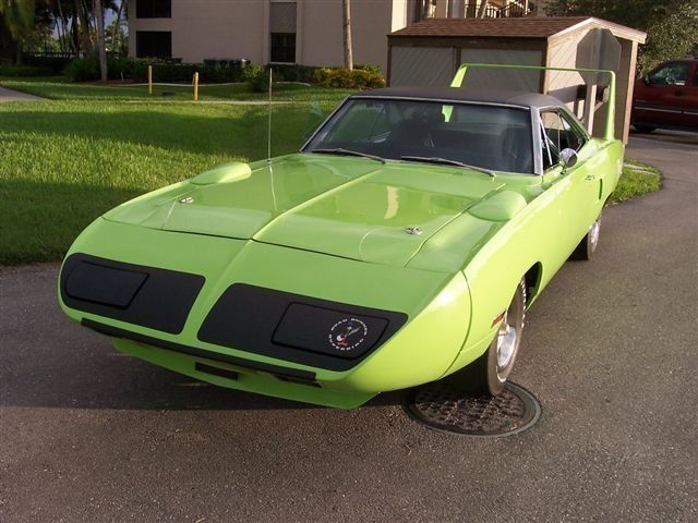 1970 Plymouth Superbird fully optioned muscle cars nose detail