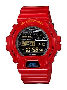 G-Shock GB-6900-4JF red watch