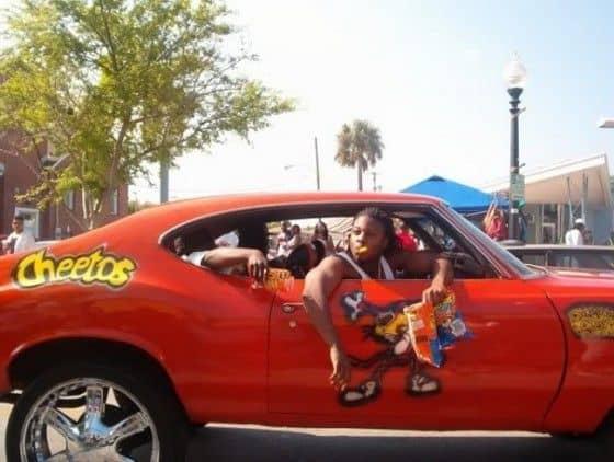 Cheetos sponsored Donk Car