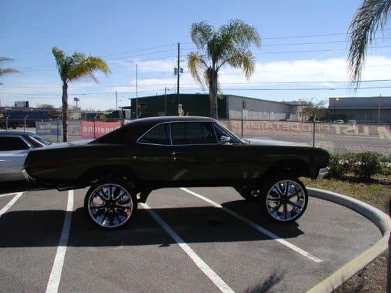 Sky-Scraper Car