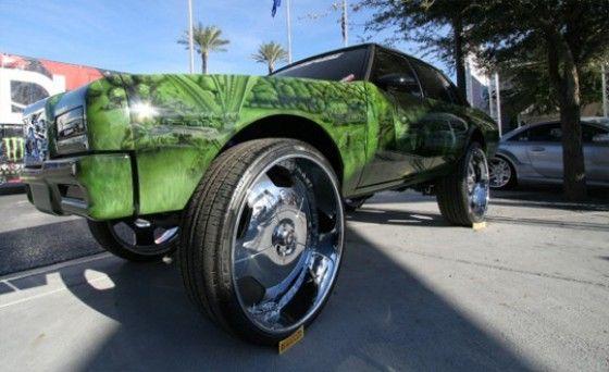 Camo Donk Car