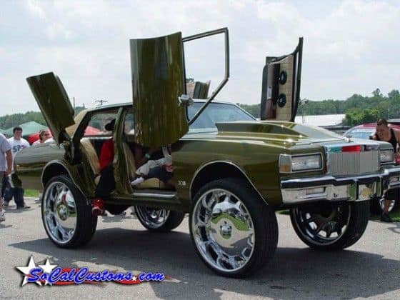 Lambo Doors on Donk Car