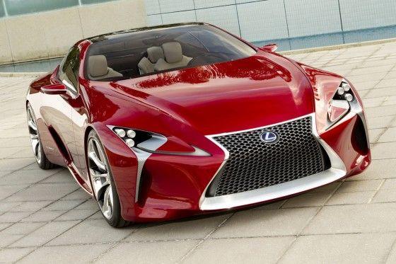 Lexus LF-LC Concept Coupe