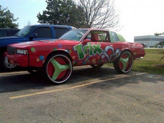 Trix sponsored Donk Car