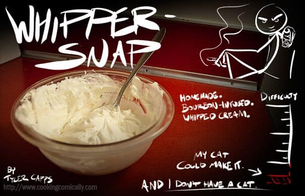 cooking comically whipper-snap