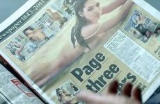 Charlie Brooker Reads a Newspaper