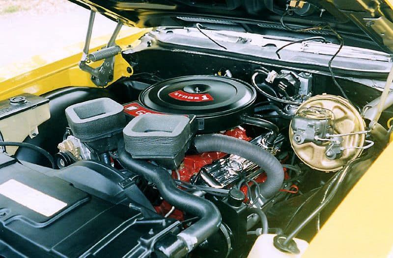 1970 Buick GSX fully optioned muscle cars engine bay