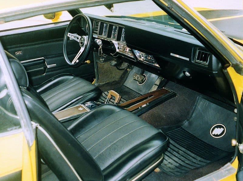 1970 Buick GSX fully optioned muscle cas interior