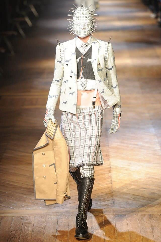 thom browne 2012 weird suit