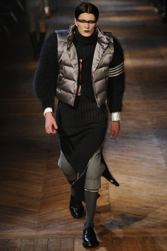 thom browne 2012 puffy vest