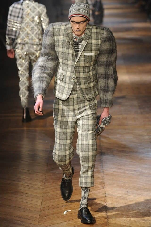 browne 2012 plaid suit