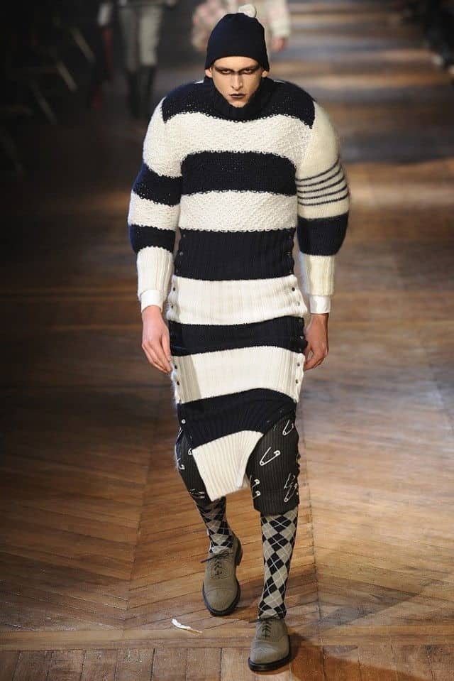 thom browne 2012 striped sweater