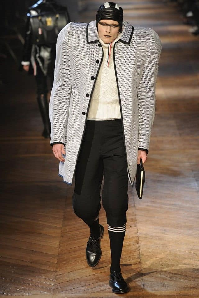 thom browne 2012 huge suit