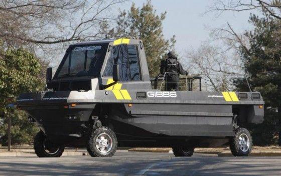 Amphibious Gibbs Vehicles