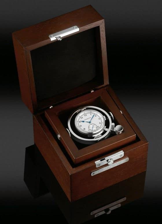 Hamilton Khaki Navy Pioneer Watch turns into a desktop clock