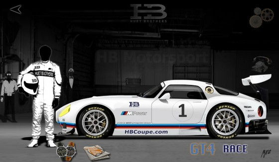 Huet Brothers HB Coupe Race