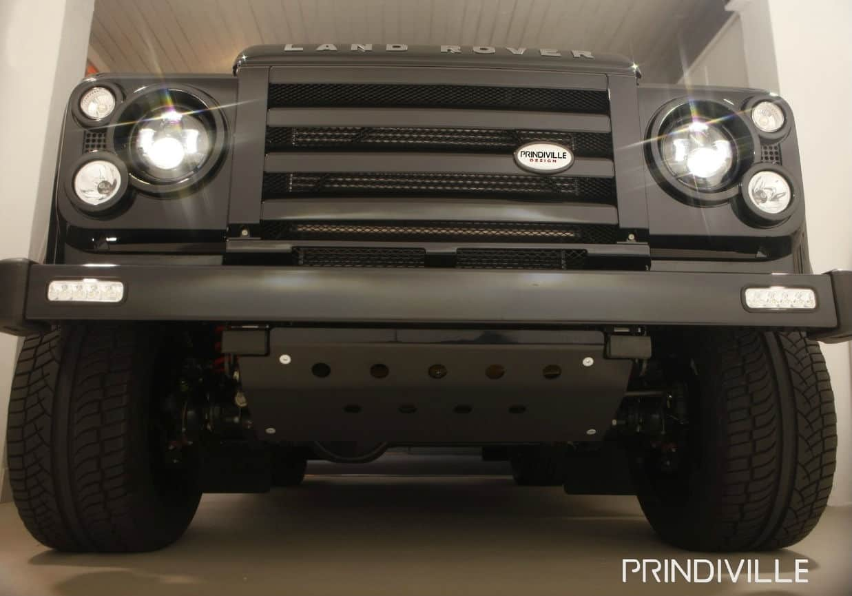 Tuned Land Rover Defender