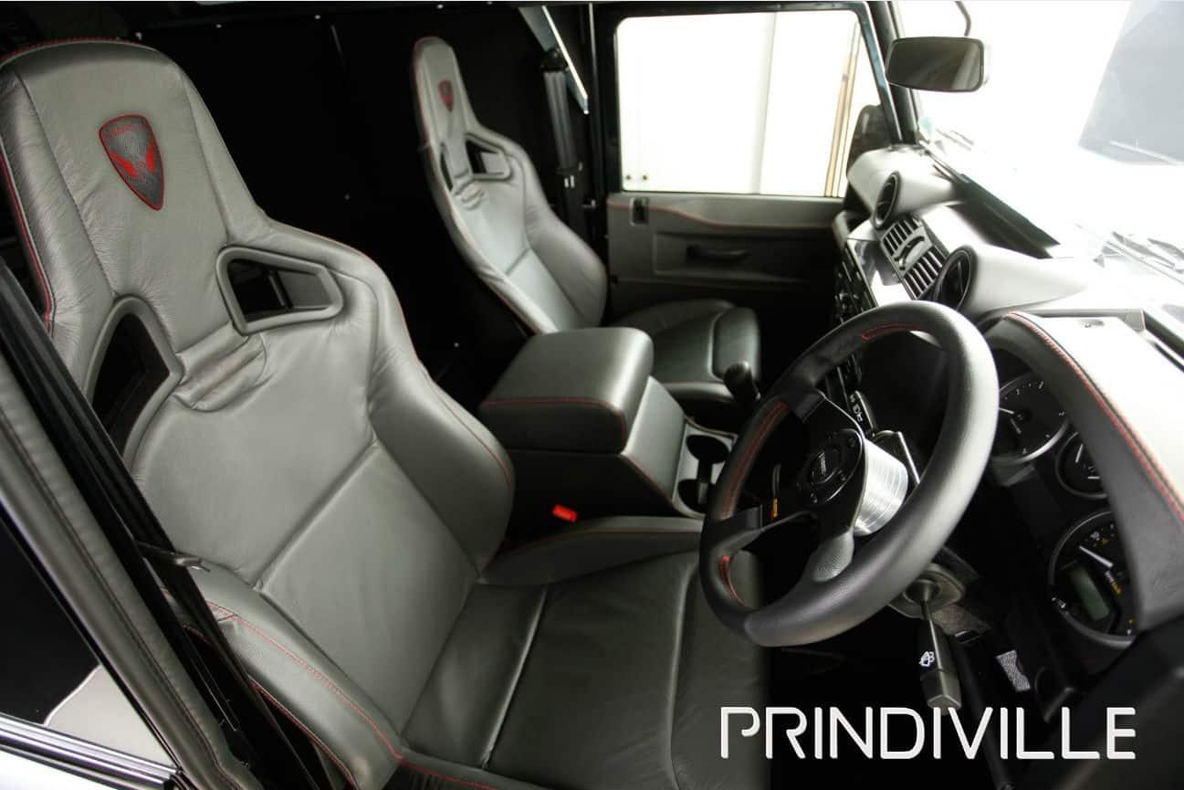 Prindville Land Rover Defender Leather Interior