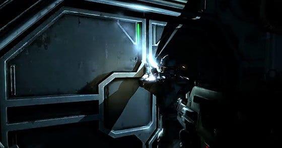 Marine welding a door