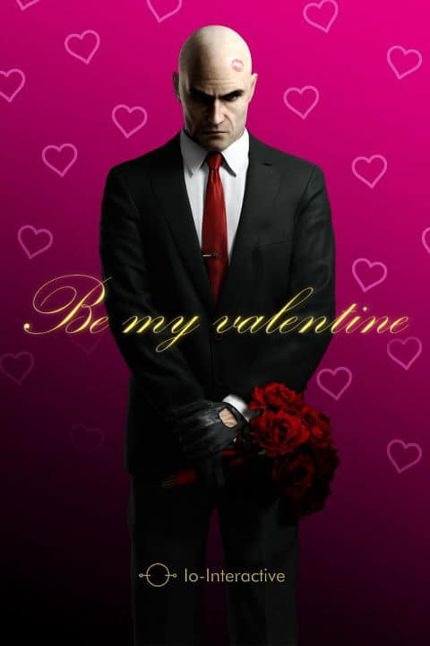 Happy Valentines Day from Agent 47