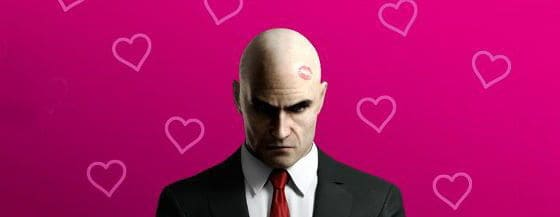 Happy Valentines from Agent 47