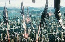 Mass Effect 3 invading ships