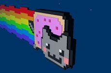 Nyan Cat in 3D