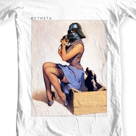 Dethsta Clothing Star Wars Pinup sexy woman