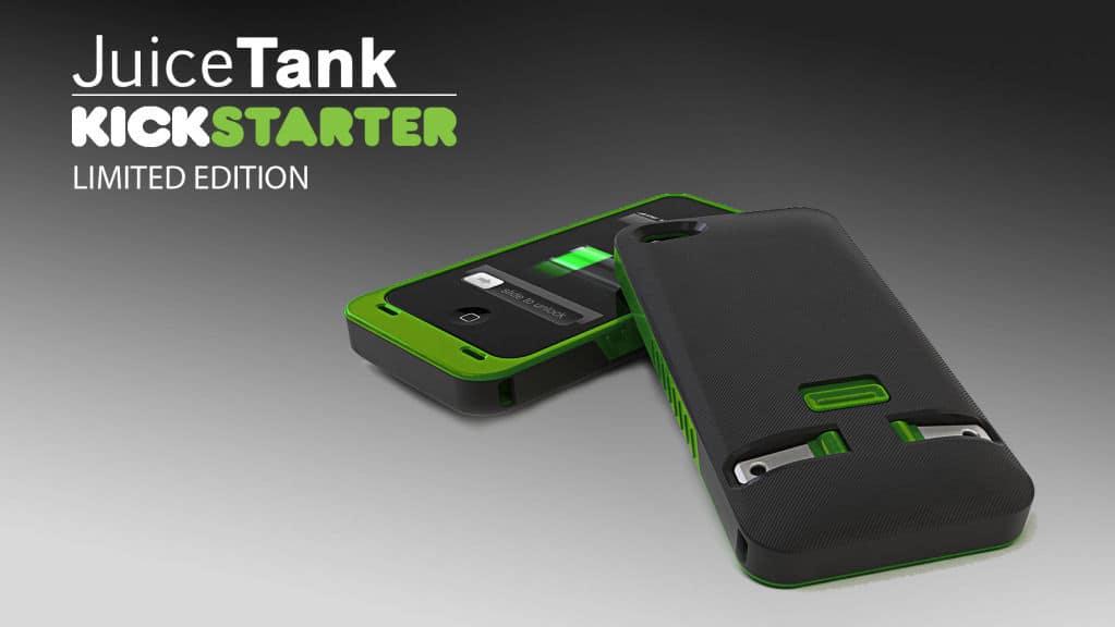 JuiceTank iPhone charger case kickstarter version
