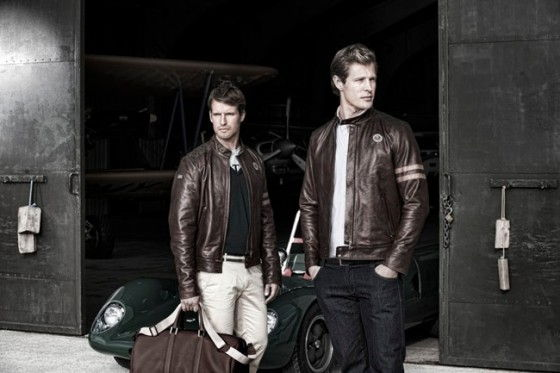 Lotus Originals Heritage leather jacket