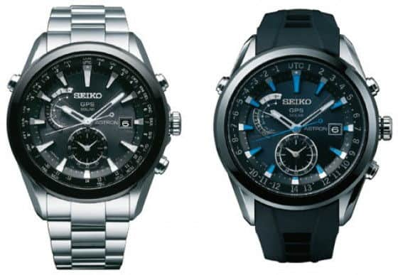 World's first Seiko Astron GPS Watch