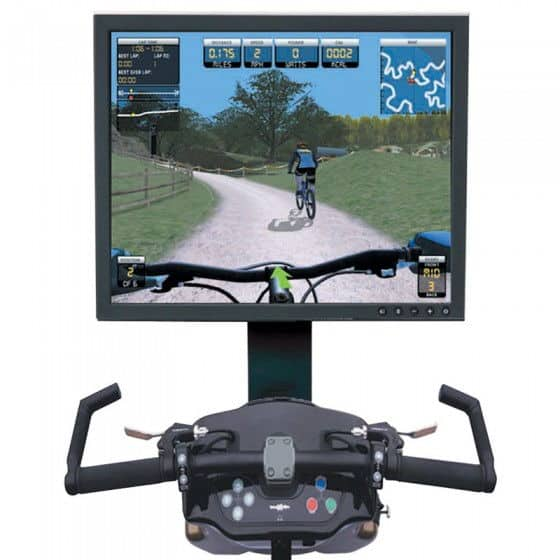 Virtual Mountain Bike Race Simulator