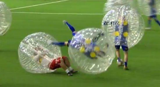 bubble soccer boblefotball wipeout