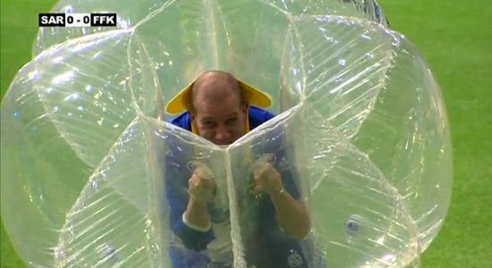 bubble soccer boblefotball