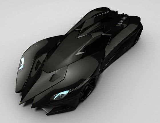 Batmobile Lamborghini Ferruccio Concept