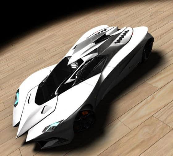 Lamborghini Concept by Mark Hostler