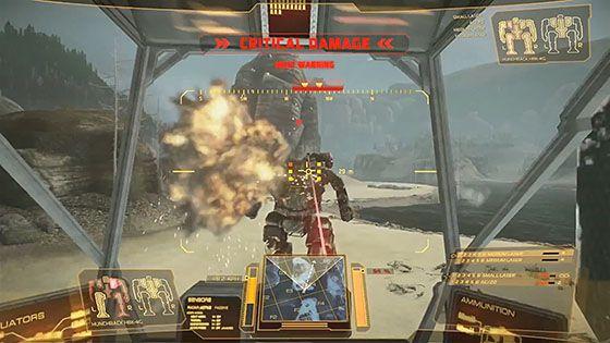 MechWarrior Online Gameplay